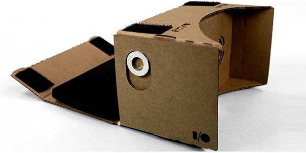 Smartphone wird zur Billig-3D-VR-Brille