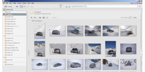 Google stellt Fotosoftware Picasa 3.0 vor