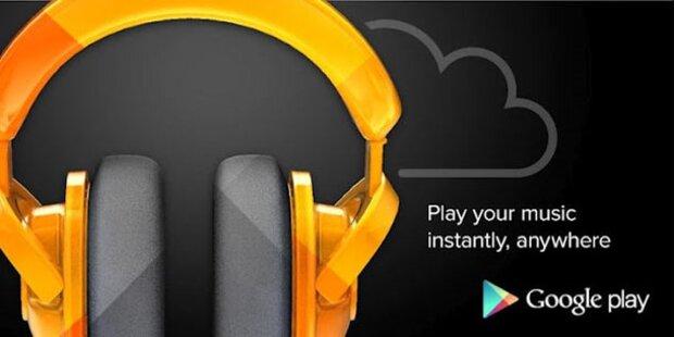Google startet Online-Musikdienst in Europa