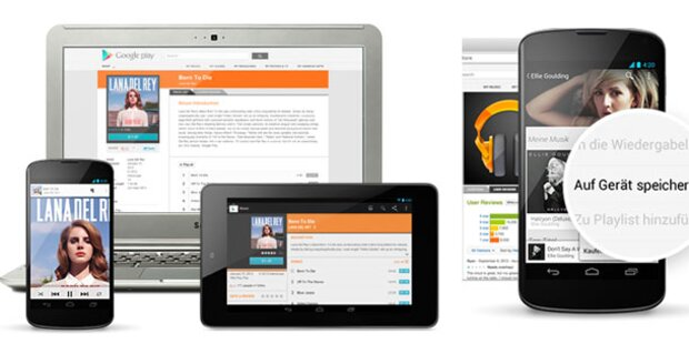 Google Play Music All Access ist da
