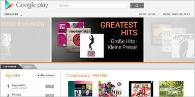 Google Play Music startet in Österreich