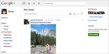 Google+ kämpfte mit Speicherproblemen