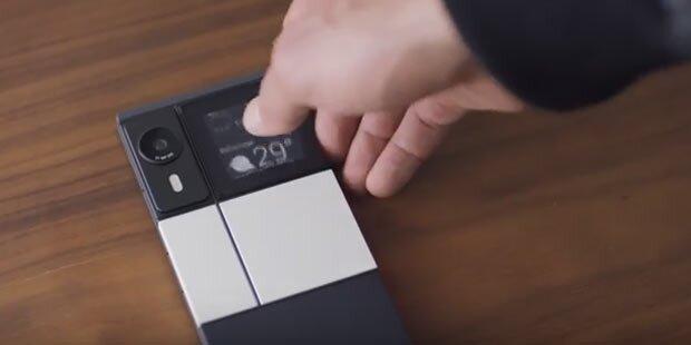 Modulares Smartphone wird abgespeckt