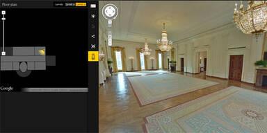 Google ermöglicht Tour durchs Weiße Haus