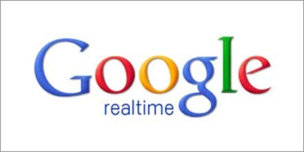 Google erweitert seine Echtzeitsuche