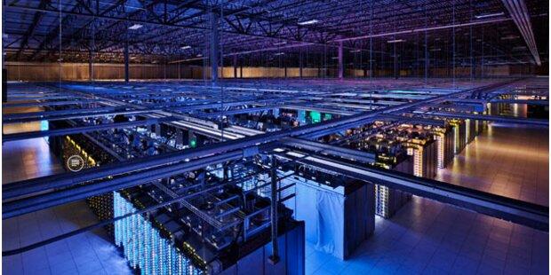 Google startet Miet-Rechenzentrum