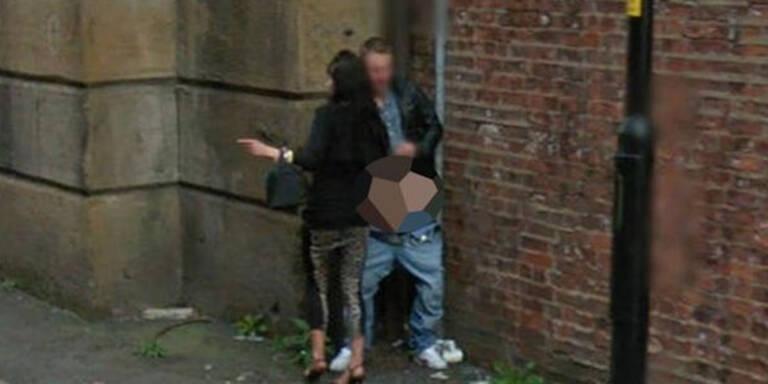 Google Street View filmt Paar beim Sex