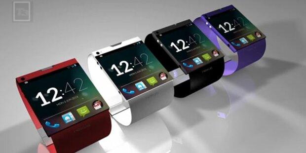 Google-Smartwatch kurz vor Start