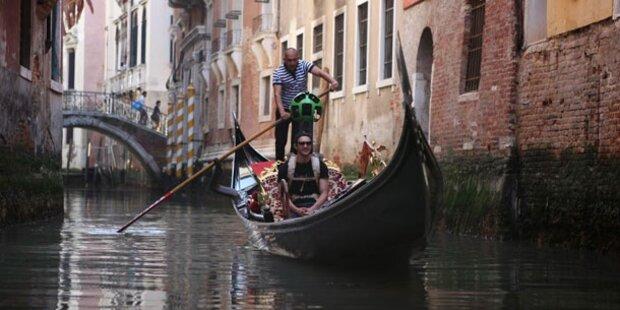 Mit Google Maps durch Venedig gondeln