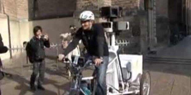 Nun kommt auch noch das Street View-Bike