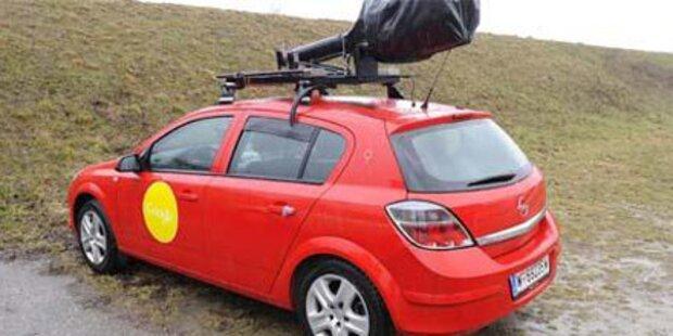 Street View: Google-Autos rollen wieder