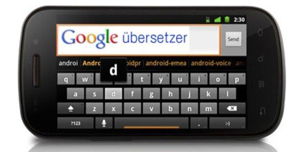 Sprachübersetzung für Android-Smartphones