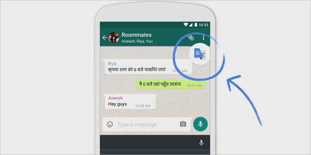 Google Übersetzer bekommt Top-Funktion