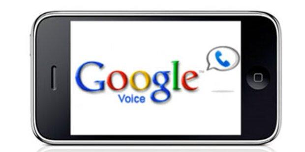 Google Voice künftig auch als iPhone-App