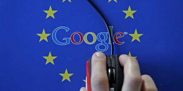 EU-Rekordstrafe: Google legt Einspruch ein