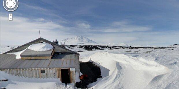 Google-Projekt bringt Antarktis