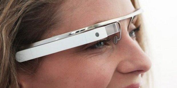 Google stellt Computer-Brille der Zukunft vor