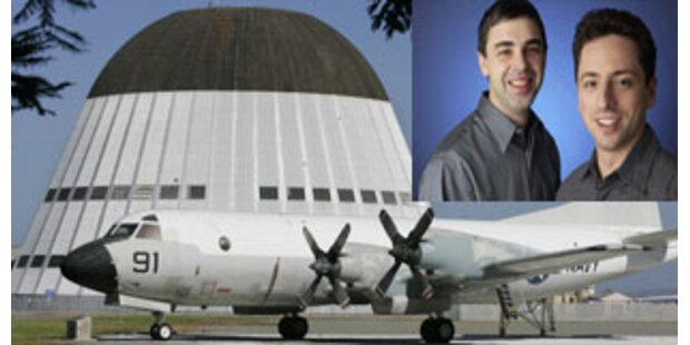 Google-Gründer parken Privatjets bei NASA