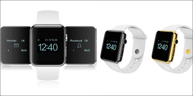 Perfekter Apple Watch Klon um 50 Euro