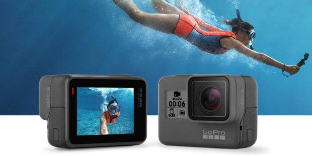 GoPro greift mit der Hero 6 Black an