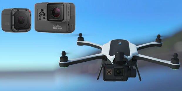 GoPro greift mit Hero 5 und Drohne an