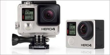 GoPro bringt die neue Hero-4-Serie