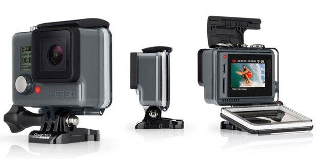 GoPro bringt günstige Hero+ LCD