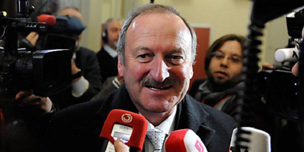 Ex-Vizekanzler Hubert Gorbach vor dem U-Ausschuss