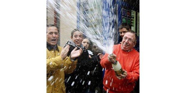 Milliarden-Lotto-Regen in Madrid