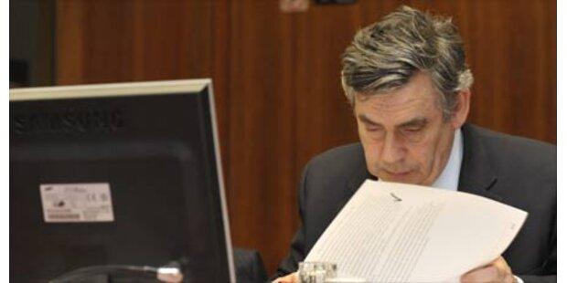 Brown schließt Rücktritt nicht mehr aus