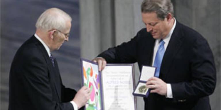 Al Gore nahm Nobelpreis entgegen