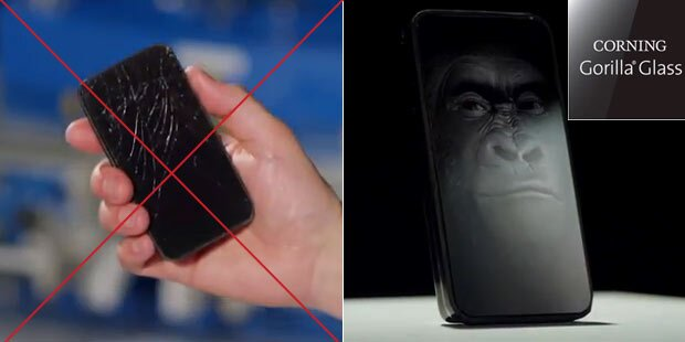 Super-Display macht Handys unkaputtbar
