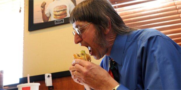 Amerikaner aß seinen 25.000sten Big Mac