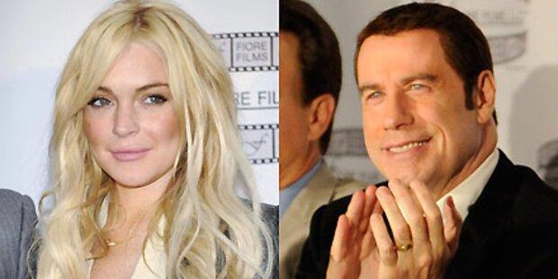 Lindsay Lohan darf mit Travolta drehen