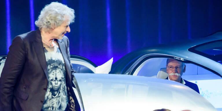Mercedes-Chef lehrte Gottschalk das Fürchten
