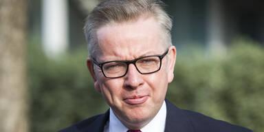 Justizminister Gove will Briten-Premier werden