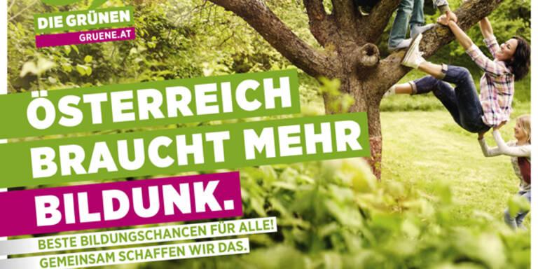"""NR-Wahl: Grüne wollen mehr """"Bildunk"""""""