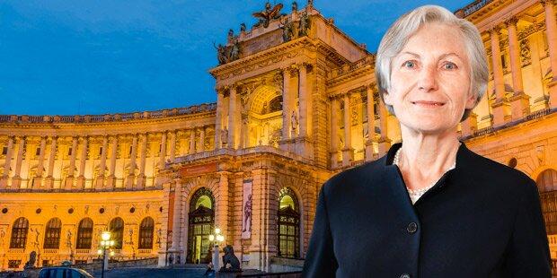 So will Irmgard Griss die Hofburg erobern
