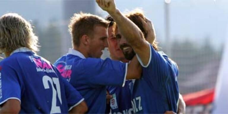 Doppel-Torschütze Diego Viana jubelt