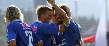 SV Grödig gegen First Vienna FC