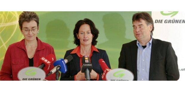 Glawischnig einstimmig zur Klubobfrau der Grünen gewählt