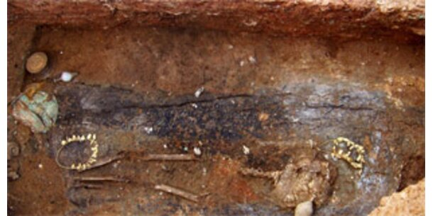 Antikes Grab bei Bauarbeiten entdeckt