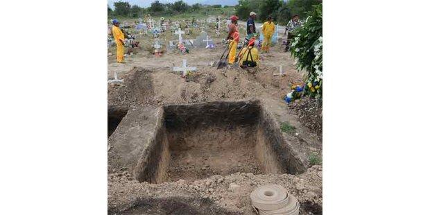 Riesengrab für einen der dicksten Männer der Welt