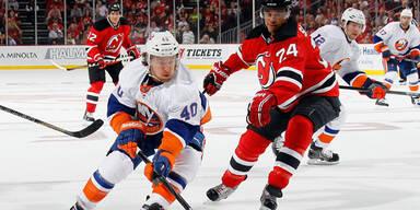 NHL-Auftakt: Zwei Tore von Grabner