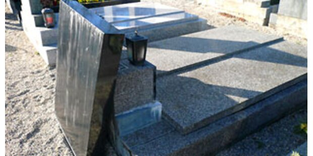 Grabstein fiel auf Burgenländerin