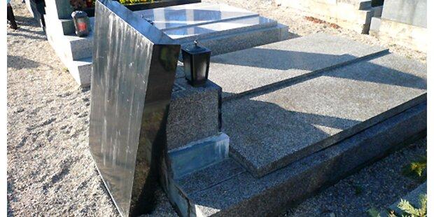 Grabstein stürzte auf Pensionistin