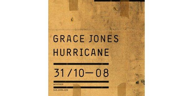 Grace Jones zurück wie ein Hurricane