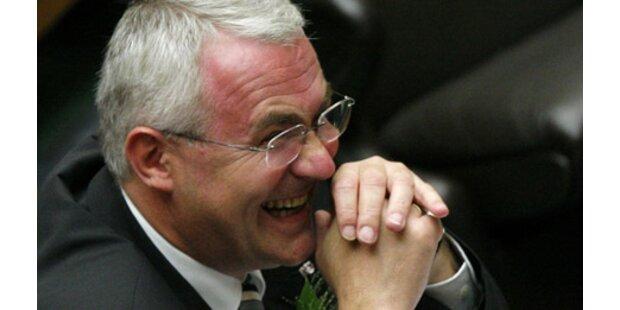 Martin Graf ist Dritter Parlamentspräsident