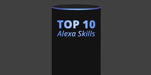 Das sind die 10 beliebtesten Alexa-Skills