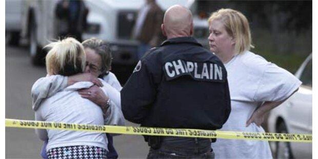 Vater erschoss 5 Kinder und sich selbst